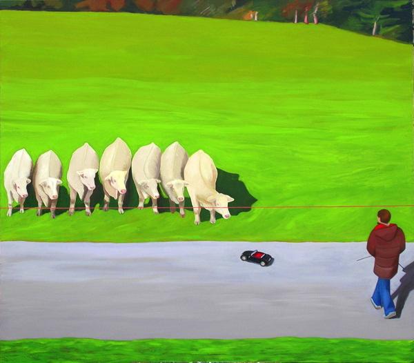 vaches télécommandées