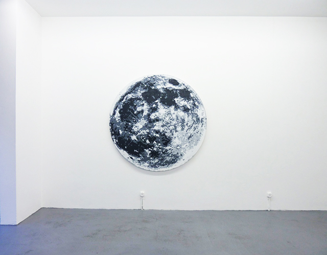David Malek, The Moon. Considered as a Planet, a World and a Satellite, Ribordy Contemporary, Genève, 2011