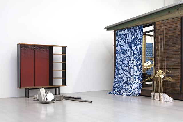 David Malek, Pièces Meublées, Galerie Patrick Seguin, Paris, 2016