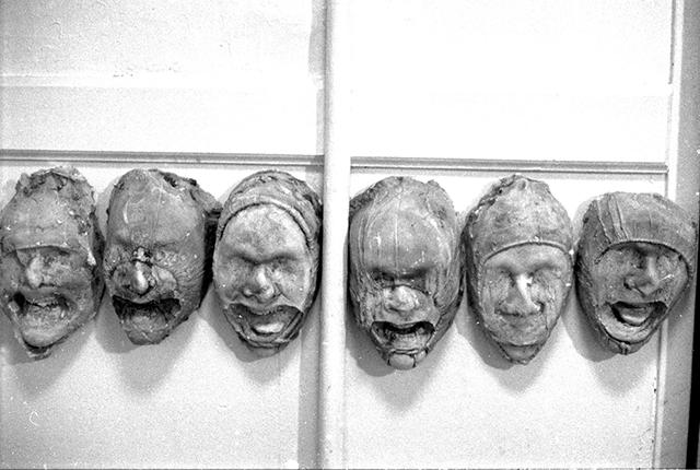 Erwan Venn - Empreintes - Ecoles des Beaux-Arts de Rouen, 1994