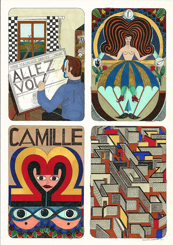 Camille Lavaud, BLOCUS SOLUS, 2013