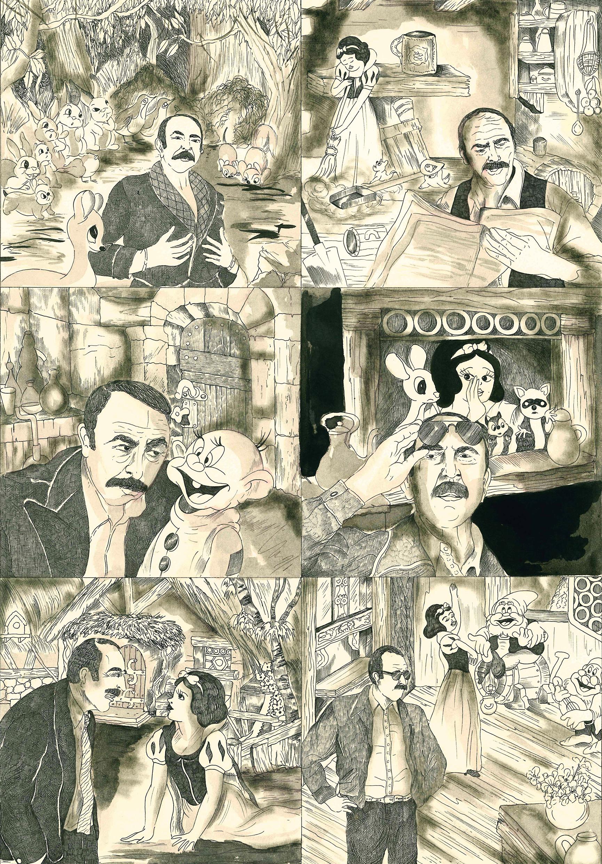 Camille Lavaud, Jean-Pierre Marielle et les sept nains