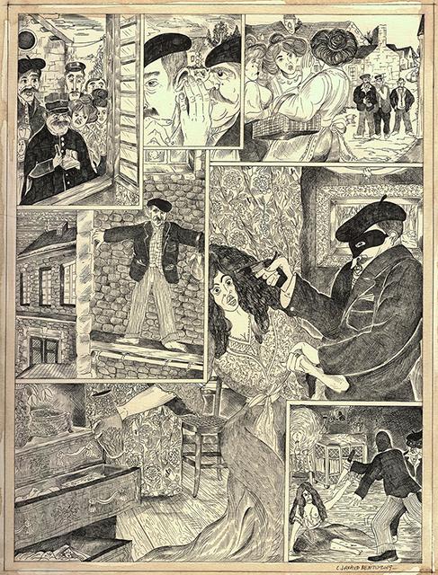 Camille Lavaud, dessin Fait divers journal