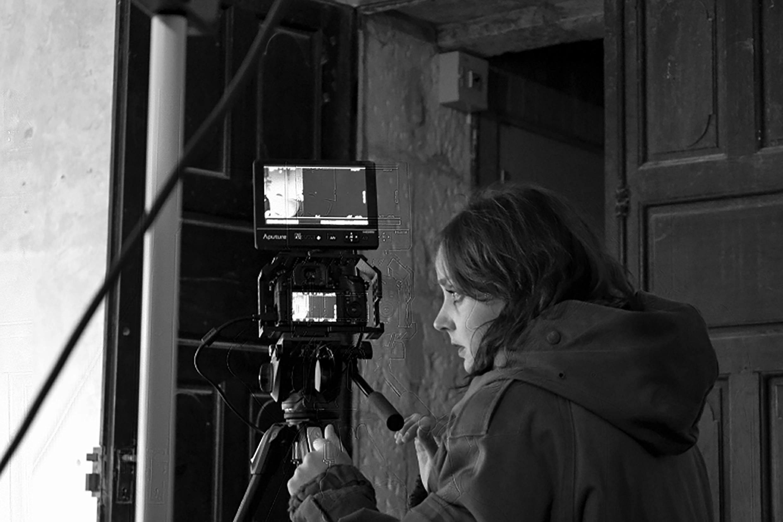 Camille Lavaud, Somnanbula (2017). Photographies de tournage.