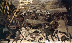 Bataille de San Romano du dossier dda Aquitaine de Jean Sabrier