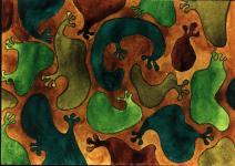 Camouflages forestiers du dossier dda Aquitaine de Chantal Raguet