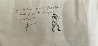 Je ne suis pas le P�re No�l mais je sors le ch�quier - 2019 du dossier dda Aquitaine de Jean Bonichon