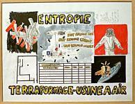 Entropie, terraformage (dessin) - 2000 du dossier dda Aquitaine de Laurent Terras