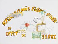 Hydroponie, Flower power... (dessin)- 2003 du dossier dda Aquitaine de Laurent Terras