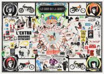 Grands dessins du dossier dda Aquitaine de Laurie-Anne Estaque