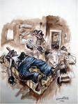 Pinocchio du dossier dda Aquitaine de Vincent Paronnaud - Winshluss